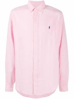 Polo Ralph Lauren рубашка с вышитым логотипом 710795245