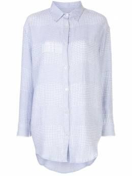 Lemlem платье-рубашка Semira SW2024LIGHTSKYBLUE