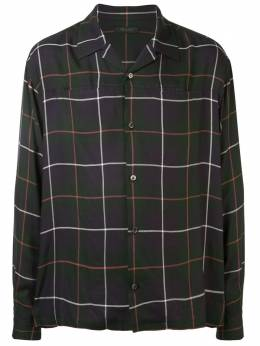 Undercover клетчатая рубашка UCY44033