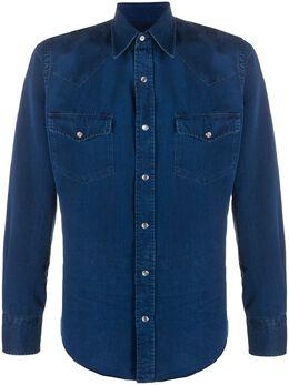 Tom Ford джинсовая рубашка с длинными рукавами 94MEKI7FT400