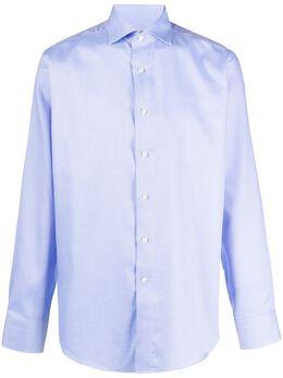 Canali рубашка с косым воротником GR01846N7C3