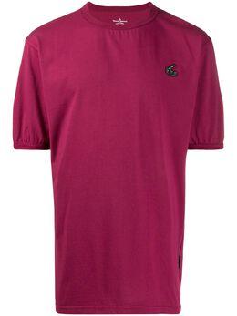 Vivienne Westwood Anglomania футболка с вышитым логотипом 3701001520987