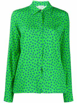 P.a.r.o.s.h. рубашка свободного кроя с принтом SEARTD380474