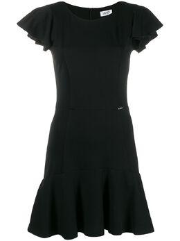 Liu Jo платье мини с оборками WA0172J4019