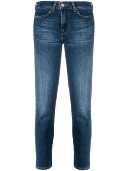 7 For All Mankind укороченные джинсы кроя слим JSVYA500BR