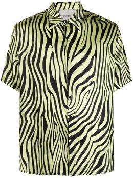 Laneus рубашка Animalier 4793