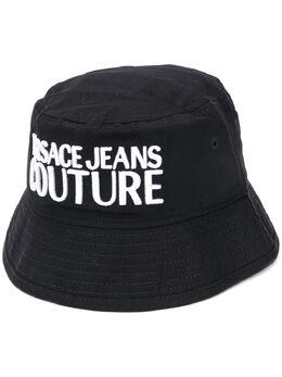 Versace Jeans Couture панама с вышитым логотипом E8GVBK0665021