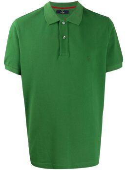Fay рубашка поло с вышитым логотипом NPMB2401520HPAV401