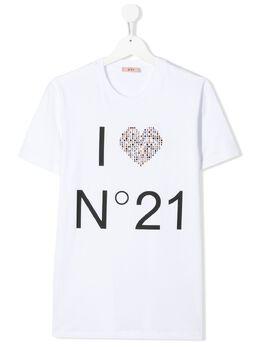 No. 21 футболка с логотипом N214AAN21T44FT