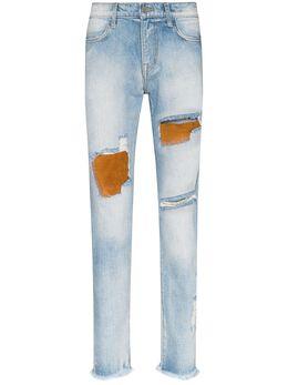 424 джинсы скинни со вставками 424CPSS200082