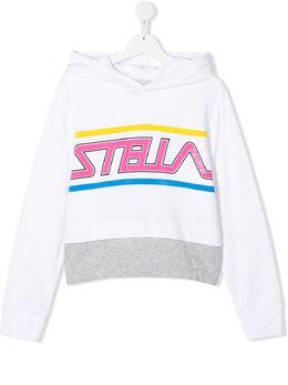 Stella McCartney Kids худи с логотипом 588677SOJ45