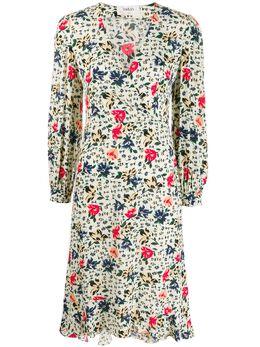 Ba&sh платье Paloma с цветочным принтом 1H19PALO