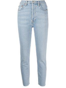 Re/Done джинсы кроя слим 1623WHRACDENIMLIGHT2
