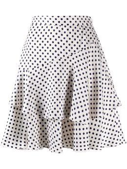 Alexa Chung юбка Aerial в горох с оборками SK05PL652