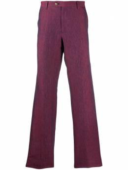 Etro строгие брюки прямого кроя 104231220