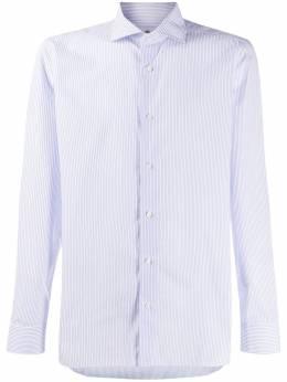 Borrelli полосатая рубашка с длинными рукавами EV089005