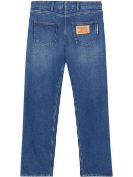 Burberry деконструированные джинсы 8025376