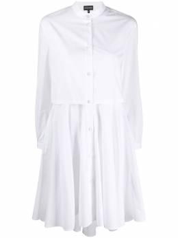 Emporio Armani многослойное платье-рубашка 3H2A772N0FZ