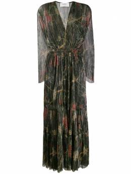 Ba&sh плиссированное платье макси Hendrix 1H19HEND