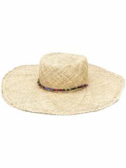 Ruslan Baginskiy соломенная шляпа с кисточками GMB036STRNATURALE