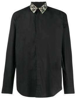 Fendi рубашка с логотипом FF FS0824ABLI