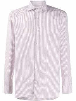 Borrelli полосатая рубашка с длинными рукавами EV18TS9005