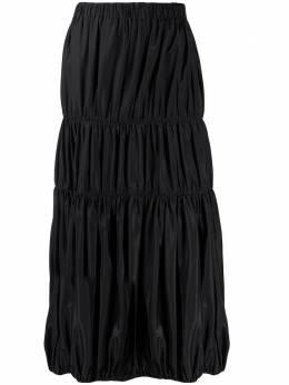 Yohji Yamamoto Pre-Owned юбка миди 2000-х годов YAM350L