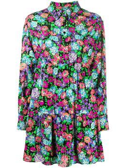 Ba&sh платье-рубашка Poldie с цветочным принтом 1E20POLD