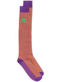 Etro полосатые носки в стиле колор-блок 1T8409316