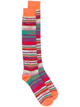 Etro жаккардовые носки в полоску 1T8409314