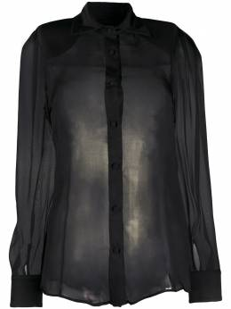 Federica Tosi прозрачная блузка FTE20CA095
