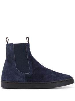 Officine Creative ботинки с эластичными вставками OCDKARM102OLIV3L506