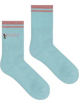 Gucci носки с логотипом 5793163GD70