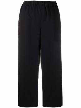 Comme Des Garcons Comme Des Garcons укороченные брюки широкого кроя с завышенной талией REP0082S20