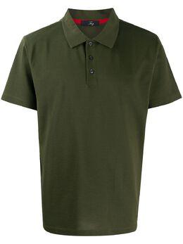 Fay рубашка поло с короткими рукавами NPMB2401410ROWV616