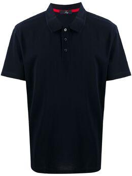 Fay рубашка поло с короткими рукавами NPMB2401410ROWU809