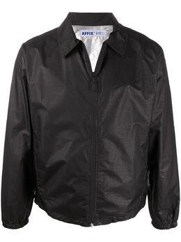 Affix куртка-рубашка на молнии с логотипом JK04