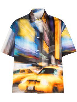 Heron Preston рубашка с принтом HMGA013S208850028888