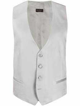 Dell'oglio single-breasted tailored waistcoat GILET4G18602N155616