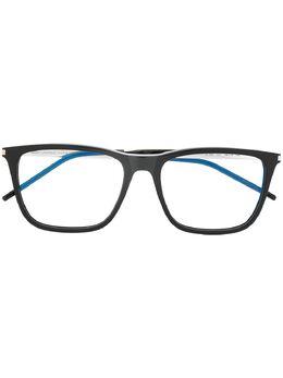 Saint Laurent Eyewear очки в круглой оправе SL345