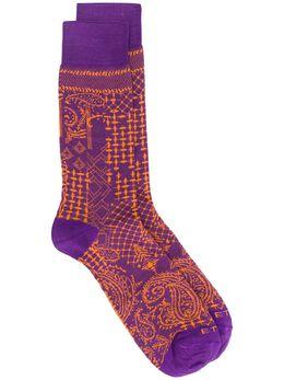 Etro носки с принтом пейсли 1T8419312