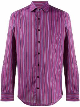 Etro полосатая рубашка 129086141