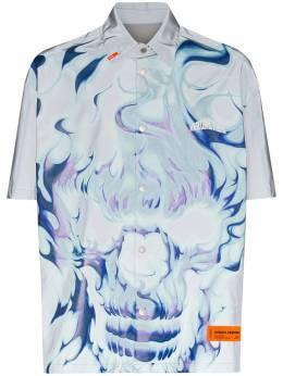 Heron Preston рубашка с принтом HMGA013S208860150588