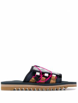 Suicoke сандалии на рифленой подошве 0G195BLU