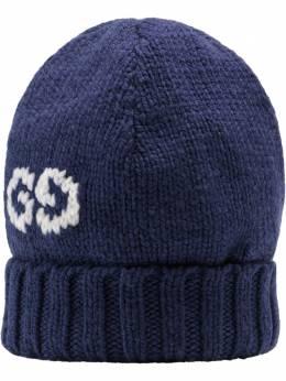 Gucci шапка бини с декором GG 6028864G206
