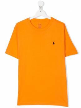 Ralph Lauren Kids футболка с логотипом 323703638
