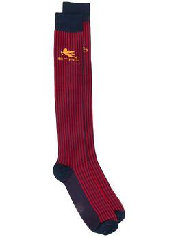 Etro носки в стиле колор-блок 1T8409316