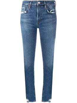 Agolde джинсы скинни с эффектом потертости A133F3002
