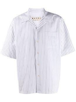 Marni рубашка с узором CUMU0054A0S52711