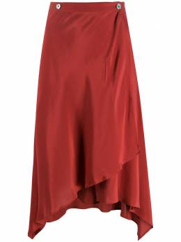 Romeo Gigli Pre-Owned юбка асимметричного кроя 1990-х годов RGIG250ACA
